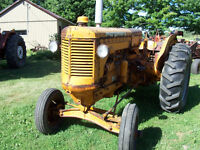 minneapolis moline u tractor