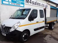 Renault Master LL35 BUSINESS DCI CREWVAN TIPPER 125PS