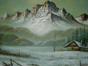 Framed Gardo oil painting for sale London Ontario image 3
