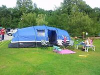 full camping set up only used 3 times geniune reason for sale