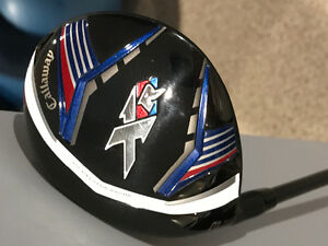 Callaway XR 3 Wood, almost new, Left Handed
