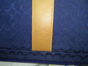 Coach laptop/zippered pouch. BRAND NEW. Men or women