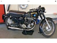 Delivery Available Uk Europe Vintage AJS 18s 500cc 1954 VGC
