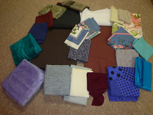 SEWING MATERIAL (FABRIC) moving sale