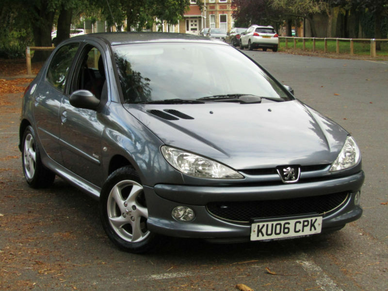 peugeot 206 1 6 sport automatic cars fsh only 75 000 miles in broadstairs kent gumtree. Black Bedroom Furniture Sets. Home Design Ideas