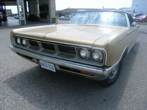 VERY RARE 1969 DODGE MONACO CONVERTIBLE
