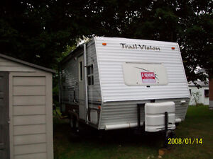 Roulotte Trail Vision 21 pieds