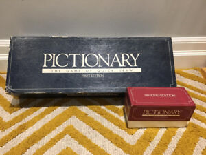 SELLING VINTAGE PICTIONARY BOARD!