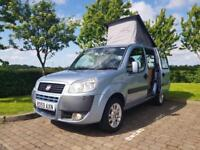 FIAT DOBLO CAMPERVAN 1.4 PETROL WITH RAISING ROOF. SMALL CAMPER