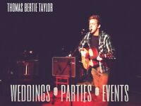 Professional singer and guitarist available for Xmas parties!