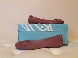 Melisa + Vivienne Westwood Peachy Pink Flats (Size 5)