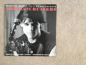 Eddie And The Cruisers Soundtrack 33 1/3 RPM vinyl LP