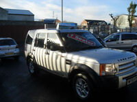 Land Rover Discovery 3 2.7TD V6 ( 7st ) 2005, CHOICE OF 3