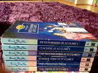 Enid Blyton St Clare's book series