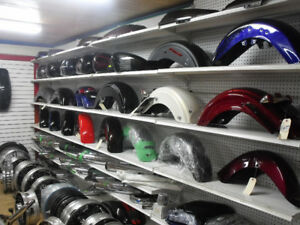 Fenders, Saddlebags, Tanks and other parts for HD Touring