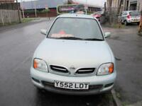 2001 Nissan Micra 1.4 Activ FIVE DOOR