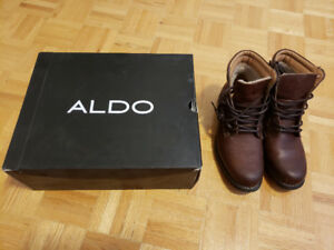 ALDO - BIENVENU 22 Leather Boots - Brand New - Size: 9.5