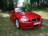BMW 320 2.0TD 2006MY d M Sport VERY RARE IN BRIGHT RED