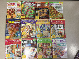 Like New Sewing / Quilting Magazines