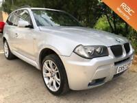 2007 57 BMW X3 2.0 D M SPORT 5D AUTO 175 BHP DIESEL
