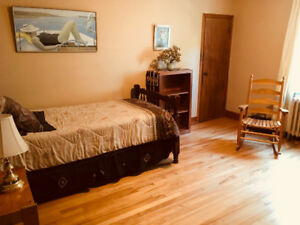 ALL INCLUSIVE furnished ROOM Jan 1 or earlier