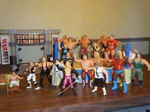 WWF Wrestlers and Ring