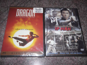 new martial arts DVDs - Ip Man - Dragon:  Bruce Lee Story - 2/$5