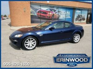 "2011 Mazda RX-8 GT6 speed / ROOF / LTHR / 18"" WHLS / 68K !!"