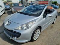 2009 Peugeot 207 1.6 16V GT 2dr Convertible Petrol Manual