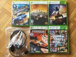 Juiced _ GTA V _ Forza 2 _ F1 2010 _ Casque micro...