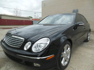 MERCEDES BENZ E500 4MATIC AWD