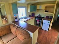 Caravan for sale by the sea in North Wales near the sea near chester.