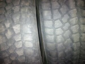"""A pair of 225/60/17"""" Winter tires"""