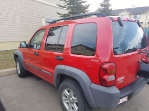 2002 Jeep Liberty SUV, Crossover