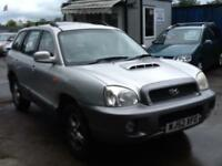 Hyundai Santa Fe 2.0TD DIESEL 2 PREVIOUS OWNERS,VERY CLEAN TRUCK,NEW MOT