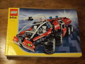 Lego Technic Rescue Truck #8454