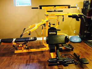 Powertec Multisystem with all the attachments. Price new $2000.