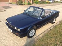 Bmw e30 318 Cabriolet Lots of History Good Condition