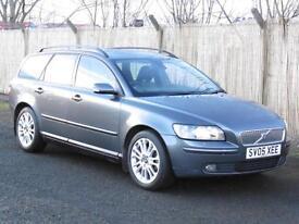 Volvo V50 1.8 Estate, 2005 SE, FSH, , 1 Years Mot, 6 Months AA Warranty