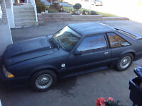 1987 MUSTANG GT COBRA! SELL FOR $2000 OBO OR TRADE FOR ????