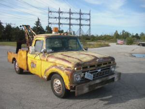 1965 Ford F100 Movie Prop Tow Truck or Special Events Show Truck