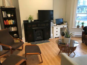 LEASE TAKEOVER: dog-friendly room in North/Central Halifax!