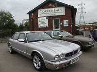 2001 `51 Jaguar XJ8 3.2 Sport Auto X308 Silver With Charcaol Leather