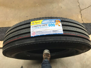 Brand New Tires 11R22.5-16PR Amberstone 600