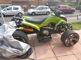 Road legal quad bike with MOT NEED GONE ASAP