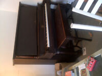 piano droit mozart