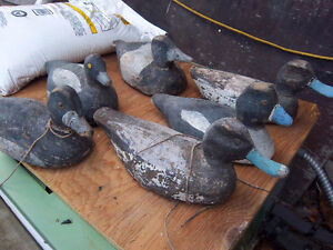 Vintage, all wood duck decoys (((Only one left )))