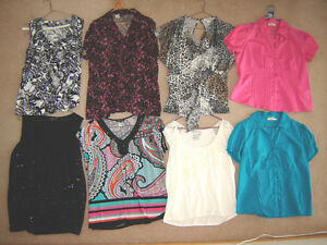 Tops (some new), Dresses (1 new), Jackets (1 new) - sz 16, XL
