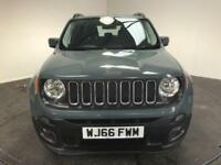 2016 66 JEEP RENEGADE 1.6 LONGITUDE 5D 108 BHP