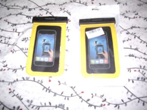 BRAND NEW UNIVERSAL CELL PHONE WATER PROTECTORS FOR SALE 20.99